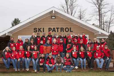 Jan 2012 Ski Sawmill Ski Patrol Group Photo